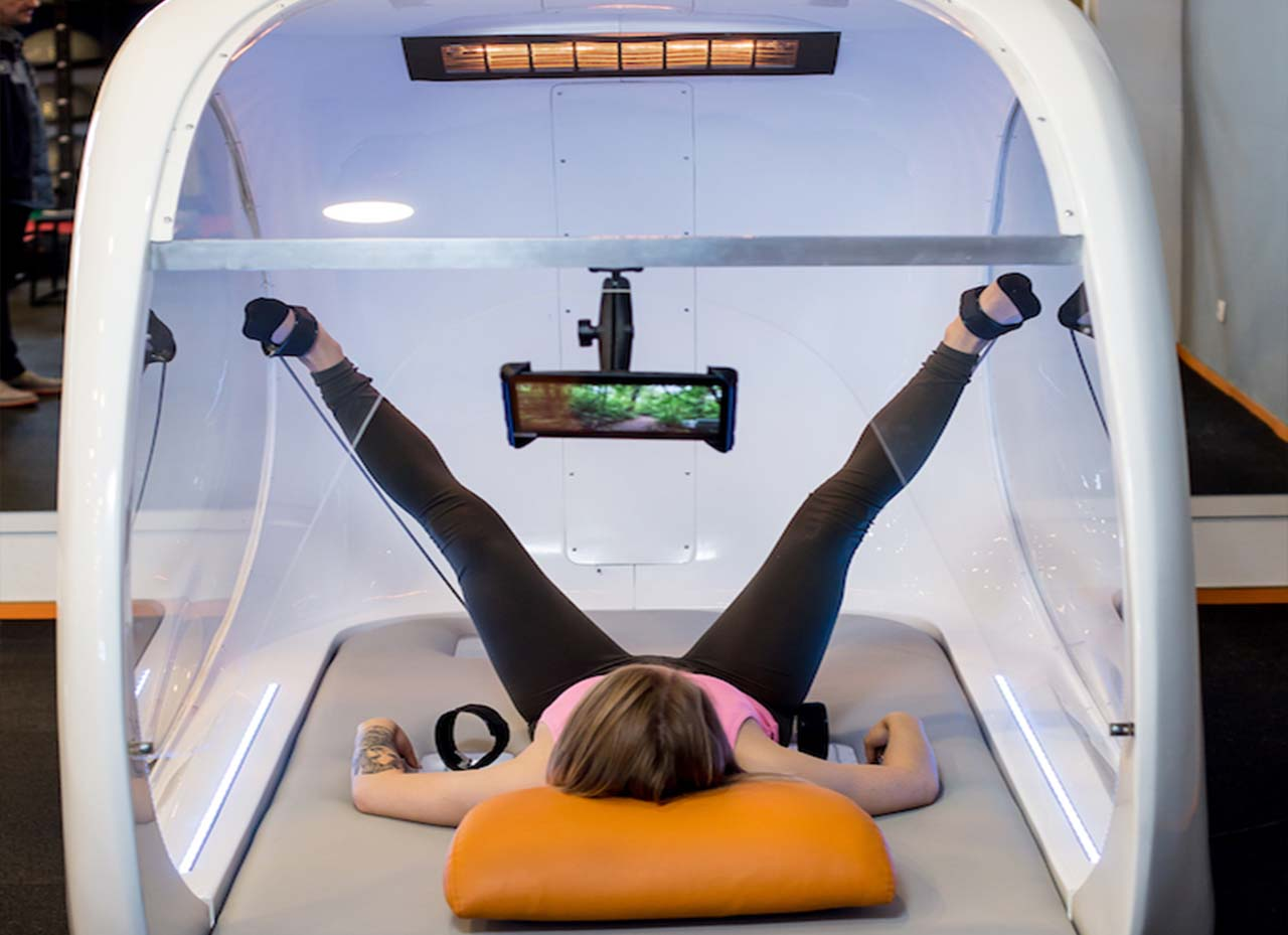 InfraRed pilates exercises